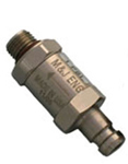 "Q.D Male To 3/8-24""Male check Valve"