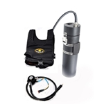 Q-Vest - Drysuit Heating system with 15.6 Ah Li-ion Light Monkey battery