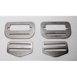 SS Buckles for G2 harness -  pair