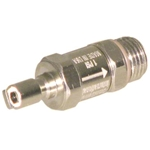 Male Quick Disconnect for BC with Check valve to 9/16-18 Male