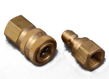 "Quick Coupler Set for Whips - 1/4"" NPT Female"