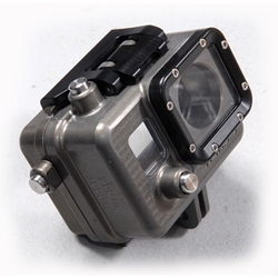 Golem Deep Housing for GoPro3 and  GoPro4 Camera - rated to 1000ft