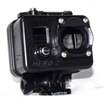 Golem Underwater housing for GoPro cameras. Rated to 150m 500ft