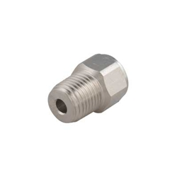 "Adapter 1/4 NPT Male to 9/16""-18 Female"