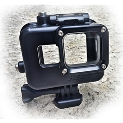 GoPro5 Housing for GoPro Hero 5 and Hero 6 Black Camera - rated to 500ft