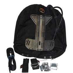 Golem Gear Stream Combo 45-55 lbs wing, harness, backplate  for CCR Liberty