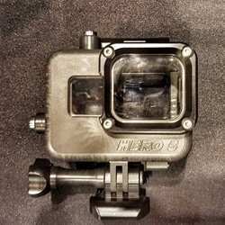 GoPro5 Housing for GoPro Hero 5 Black Camera - rated to 500ft